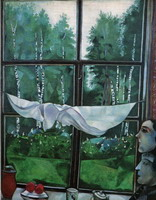 Window at the Dacha, 1915