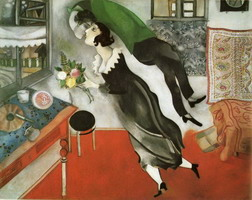Marc Chagall. The Birthday, 1915