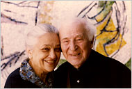 Marc Chagall and Vava, his second wife